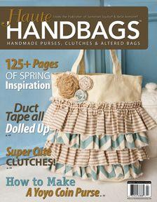 Haute Handbags - Altered and Handmade Purses, Clutches, Totes, Portfolios, Sacks, Bags, Attachés, and More