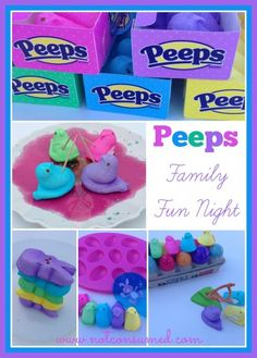 Peeps Family Fun Night: 5 sweet and sticky games your family will love!