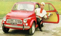 Fiat 500 #classic #fiat500....I think I have a car crush.