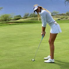 Store our wide choice of stylish and budget friendly Women's golf clothing. We carry the . A Ladies Guide On How To Dress For Golf. Outfits Fo, Golfing Outfits, Girl Golf Outfit, Cute Golf Outfit, Sexy Golf, St Louis Blues, Disc Golf, Stanley Cup, Nike Dri Fit