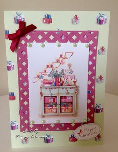 Docrafts Lucy Cromwell at Christmas Christmas 2015, Christmas Cards, Christmas Inspiration, Handmade Cards, Holiday Decor, Home Decor, Christmas E Cards, Craft Cards, Decoration Home