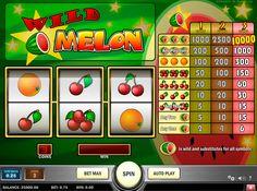 Play'n Go Online kolikkopelit Wild Melon pelissä on vain 3 symbolia ja mikään niistä ovat alhainen arvo. Kirsikat, vesimelonit ja appelsiinit ovat kaikki saat.