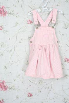 Pink OSHKOSH OVERALL dress