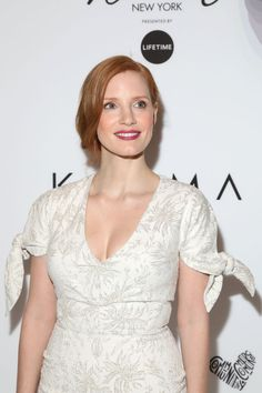 Jessica Chastain At Variety's Power of Women NY.