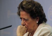 Rita Barberá no se presentará en el comité ejecutivo del PP