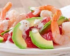 Salade de crevettes, pamplemousse et avocat au piment : http://www.fourchette-et-bikini.fr/recettes/recettes-minceur/salade-de-crevettes-pamplemousse-et-avocat-au-piment.html