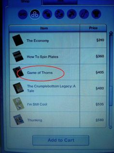 They keep up with the latest book trends. | 15 Ways The Sims Are Just Like You