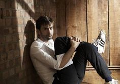 [RT] #DavidTennant Daily Photo!  Colloquially known as the yoga photo.