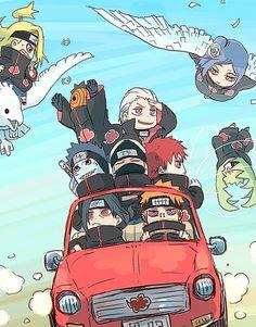 Zetsu be like: road trip they said, it will be fun they said