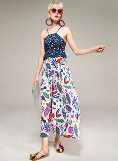Fashion Prints, Boho Fashion, Surface Pattern Design, Ruffles, Spanish, Rainbow, Unique, Closet, Outfits