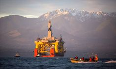 Royal Dutch Shell will end its controversial search for oil and gas in the Arctic after disappointing results at an exploration well off northern Alaska Costa, Royal Dutch Shell, University Of Victoria, Port Angeles, Exploration, Environmentalist, Environmental Issues, Environmental Pollution, Gulf Of Mexico