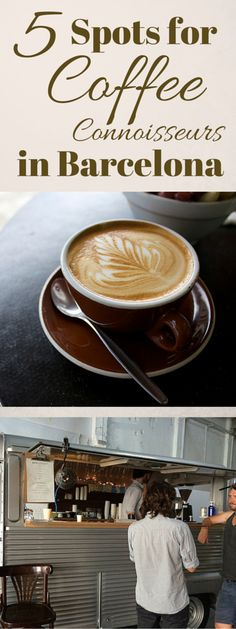 Coffee culture in Spain is an interesting concept. A new wave of coffee culture has come over Barcelona, and coffee snobs couldn't be more thrilled. So for something a little more special than the usual, check out these five spots for coffee connoisseurs in Barcelona. http://devourbarcelonafoodtours.com/coffee-in-barcelona/