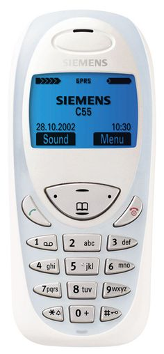 Siemens C55 my second HP