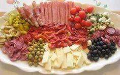 italian antipesto platter