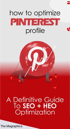 DO YOU WANT TO GIVE YOUR PINTEREST A BIG BOOST? IS THE PINTEREST ALGORITHM UPDATES BURYING YOUR PINS? Let's Crack This Visual Search Engine To 10x The Impressions, Engagement, And Traffic. Where There Is A Search Engine, There Is An Opportunity For Optimization. Here is the Definitive Guide to Optimize the SEO + HEO elements of a Professional Pinterest Profile and get out of the crowd. #Themagraphics #PinterestOptimization #Optimize #Pinterest #Profile #SEO #HEO Get Subscribers, Blog Topics, Seo Marketing, Make Money Blogging, Pinterest Marketing, How To Start A Blog, Profile, Social Media, Let It Be