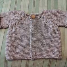 Norwegian Fir Top Down Cardigan - Knitting pattern by OGE Knitwear Designs Row By Row, Knitting Patterns, Knitting Ideas, Garter Stitch, Baby Dress, Crochet Projects, Knitwear, F1, Knits