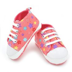 Baby Girls Boys Rainbow Canvas Shoes Soft First Walkers Casual Baby Shoes First Walkers♦️ SMS - F A S H I O N  http://www.sms.hr/products/baby-girls-boys-rainbow-canvas-shoes-soft-first-walkers-casual-baby-shoes-first-walkers/ US $1.62