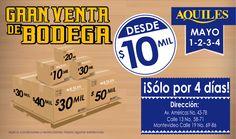 ¡Buenas Noticias Vuelve nuestra venta de Bodega!!!