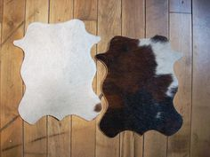 Mini Cowhide Rugs $16 for kitchen