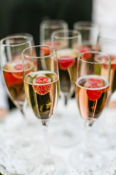 Gatsby Garden Party Wedding. #champagne Read more - http://www.stylemepretty.com/massachusetts-weddings/ipswich/2014/01/29/gatsby-garden-party-wedding/