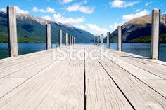 stock-photo-25268447-jetty-lake-rotoiti-nelson-lakes-national-park-nz-1 Deep Photos, The World Race, Kiwiana, New Zealand Travel, South Island, Travel And Tourism, Image Now, Nature Photos, National Parks