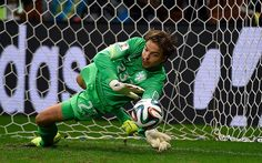 Tim Krul - Holland vs Costa Rica: the best images from the World Cup quarter final