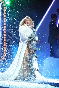 dreaming of a white Christmas. Kylie Christmas, Christmas Shows, White Christmas, Merry Christmas, Melbourne, Kylie Minouge, Victoria, Fantasy Costumes, Makes You Beautiful