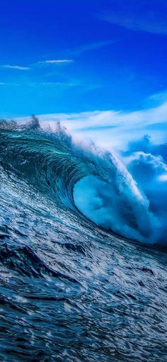 Waves Wallpaper, Mobile Wallpaper, Wallpaper Art, Phone Backgrounds, Wallpaper Backgrounds, Iphone Wallpapers, Beach Landscape, Amazing Nature, Nature Photography