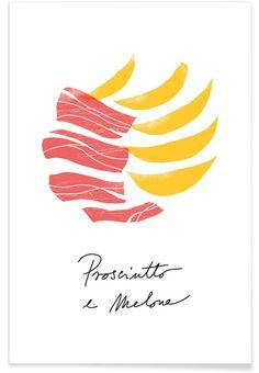 Prosciutto e Melone by Ana Zaja Petrak | JUNIQE
