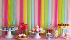 Mãe Para Sempre!: Decoração de festa usando papel!