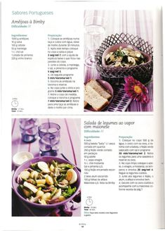 Revista bimby pt-s01-0015 - julho 2010 Salsa, What To Cook, Acai Bowl, Chili, Menu, Vegetables, Breakfast, Recipes, What's Cooking