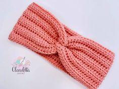 Crochet Headband Pattern, Knitted Headband, Crochet Blanket Patterns, Easy Crochet Headbands, Twist Headband, Diy Headband, Crochet Twist, Knit Crochet, Crochet Crafts