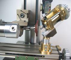 Custom drill bit sharpener jig