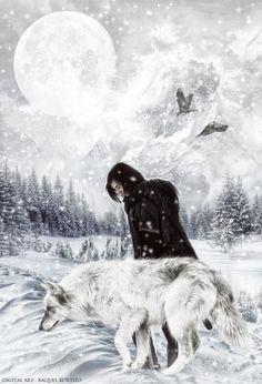 ☆ Jon Snow :¦: By Artist Raquel Kortizo ☆