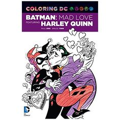 Harley Quinn Coloring Book - $10 ⋆ Gifts for Geeky Girls!