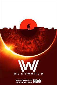 Westworld poster art exploration for Arsonal