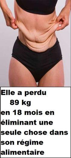 Elle a perdu 89 kg en 18 mois en éliminant une seule chose dans son régime alimentaire