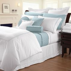 Cuddledown Sateen Hotel Bedding by Cuddledown Bedding, Cuddledown Sateen Hotel Bedding by Cuddledown Bedding; Comforters, Comforter Sets, Bed In A Bag, Bedspreads, Quilts & Duvets: The Home Decorating Company