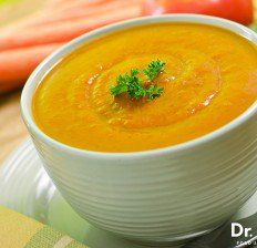 Carrot ginger soup recipe - Dr. Axe
