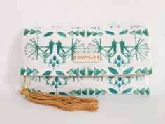 RAJOVILLA Watercolor Clutch No 02
