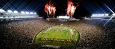 Bobby Bowden Field at Doak Campbell Stadium home to the Florida State Seminoles in Tallahassee, Florida.  http://fairhopesupply.com/2014/09/southern-universities.html/