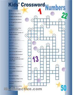 english worksheet crossword numbers 1 50 numbers numeros en ingles worksheets n meros. Black Bedroom Furniture Sets. Home Design Ideas