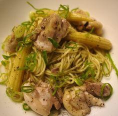 「鶏の塩ハーブ拉麺」のレシピ by 味岡キヨシさん | 料理レシピブログサイト タベラッテ