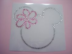 CLEARANCE MINNIE MOUSE WITH DAISY BOW ADORABLE DIY IRON ON TRANSFER