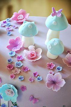 fondant fairy cake torta decorata fata (4)   Flickr - Photo Sharing!