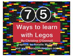 75+activities to learn with legos!