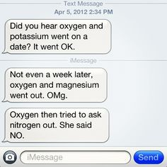 A little chemistry humor along with math humor never hurt anyone. Like this.