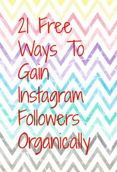There are many ways to gain Instagram followers for free, without the need to buy any fake Instagram followers. Why not check out my article to see if you could learn something.