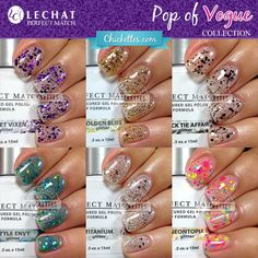 LeChat Perfect Match Pop of Vogue Collection Swatches