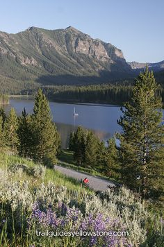 Hyalite Reservoir Located just outside of Bozeman, Montana, this 206 acre lake is a major recreational hub for the region.